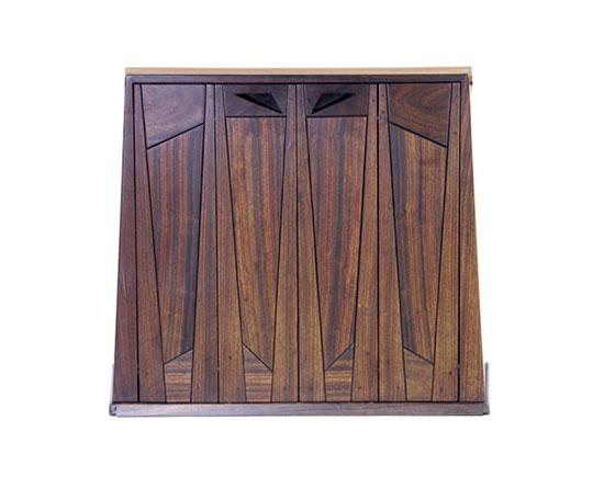 Padouk Victrola cabinet