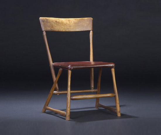 Hammer Handle side chair