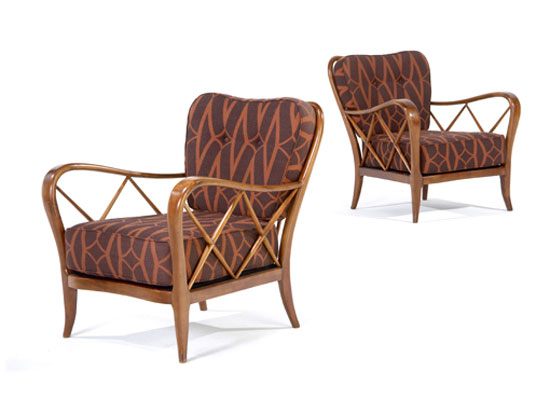 Armchairs, pair de Rago Arts and Auction Center