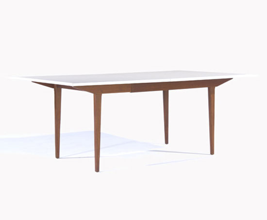 Rago Arts and Auction Center-Extension dining table