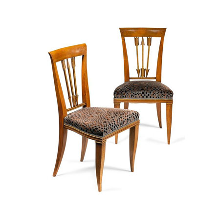 Pair of chairs by Sotheby´s