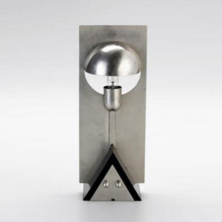 Steel lamp