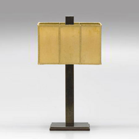Patinated bonze lamp