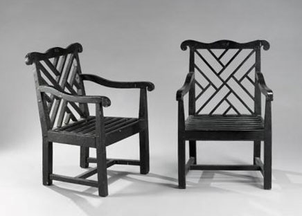 Set of four garden armchairs von Sotheby´s
