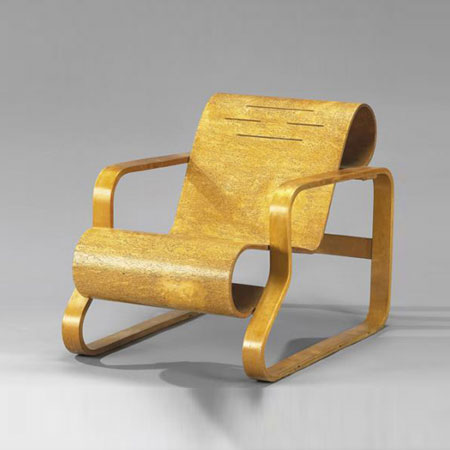 'Paimio' lounge chair, model N°41