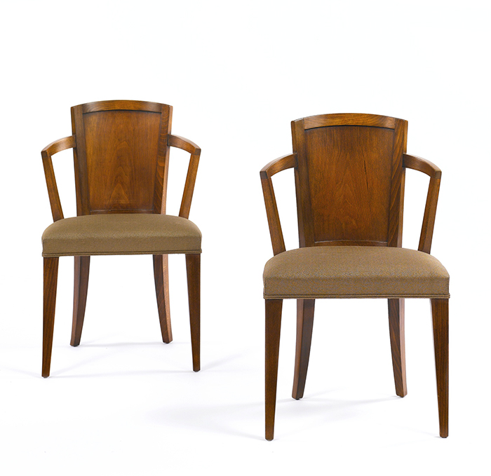 Armchairs, Model MF 275, Pair