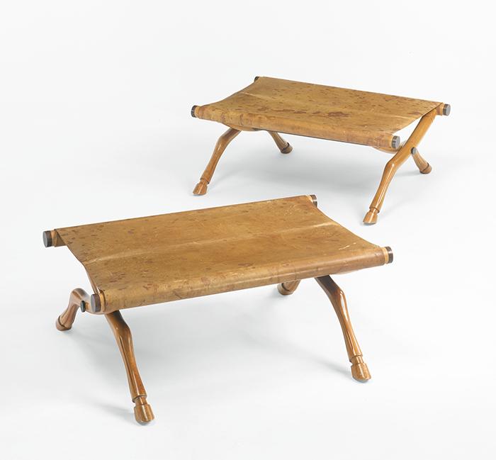 Diphros Okladias stools, pair