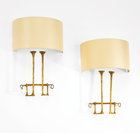 Mail-Coach wall sconces, pair