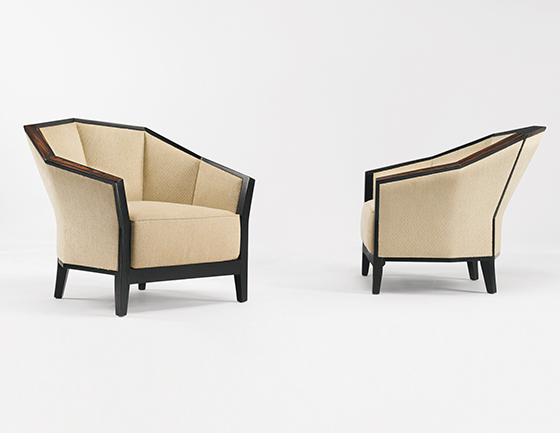 Sotheby´s-Armchairs, Model MF 172, Pair