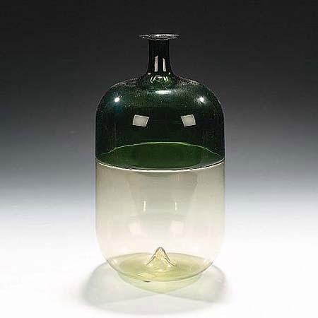 Bolle murano glass vessel