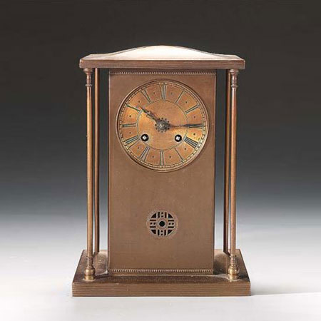Messing mantle clock