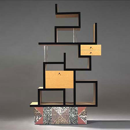 Max laminated bookcase