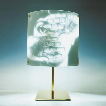 Themes and Variantions table lamp