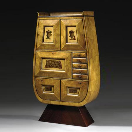 Drop front secretaire