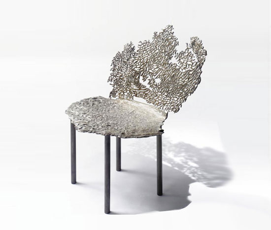 Coral Wave Chair Design Objects 4107681