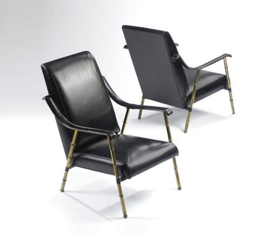 LOUNGE CHAIRS, PAIR di Sotheby´s