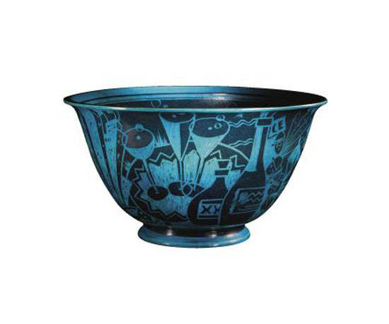 ''JAZZ'' PUNCH BOWL