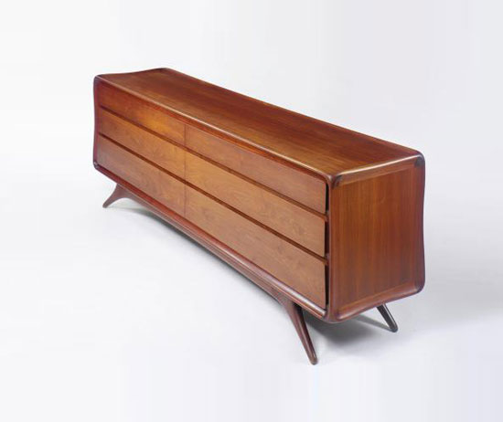 CHEST OF DRAWERS, MODEL NO. 3401