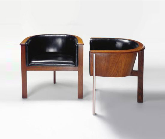 """CYCLE I"" ARMCHAIRS, PAIR"