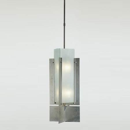 French Modernist Hanging Light