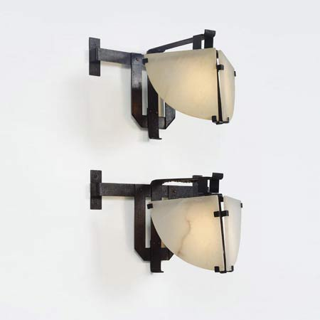 'Masque' sconces