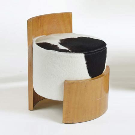 French Modernist Stool