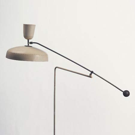 Counter-balance wall lamp