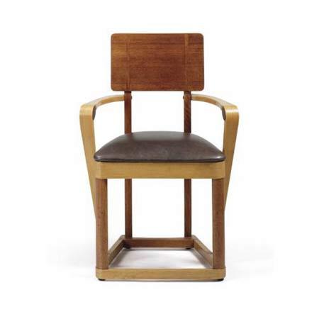Bentlock armchair