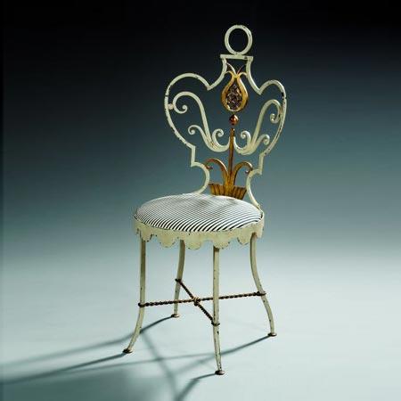 Garden chair, model Ananas