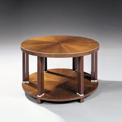 Low table, model Colonnettes