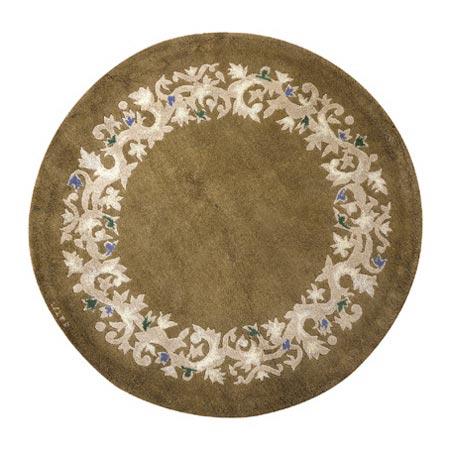 Round carpet di Tajan