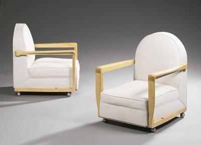 Paar Sessel, Modell Ile de France