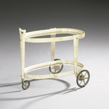 Tea cart by Tajan