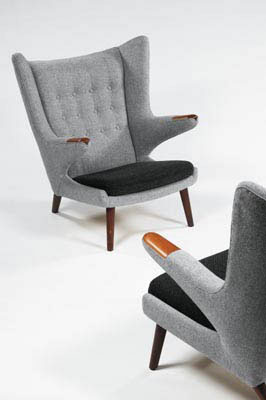 "Pair of armchairs ""Papa Bear"""