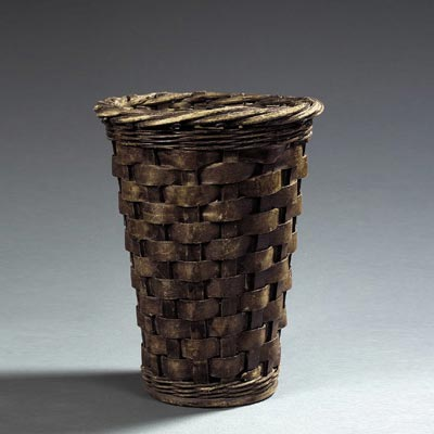 Wastebasket by Tajan