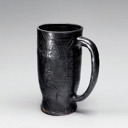 Vase Trois satyres