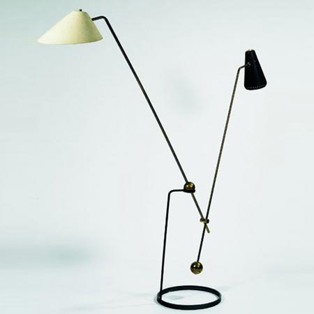 Floor lamp by Tajan