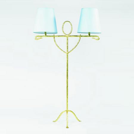 Egyptien floor lamp