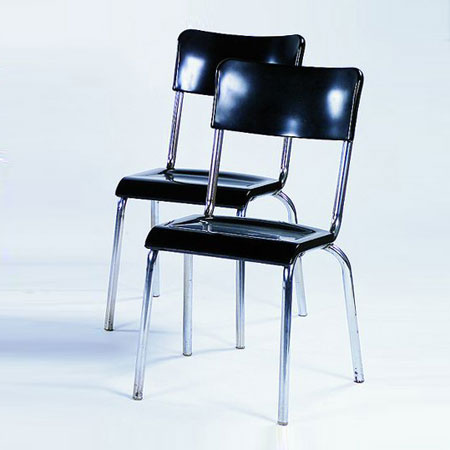Tajan-Pair of chairs