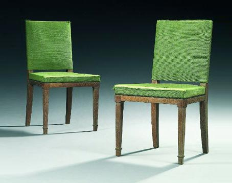 Paire de chaises von Tajan