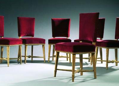Tajan-Suite de six chaises