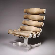 Lounge chair 'Vertebrae'