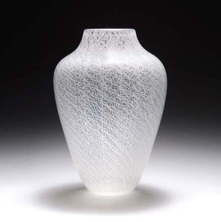 Vase 'a merletto'