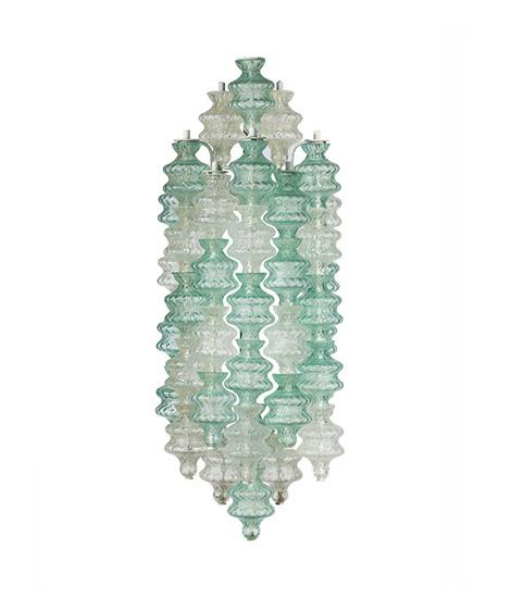 Pair of Murano glass sconces