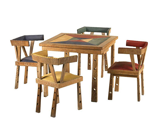 Wooden table and four chairs Design objects 4108467 : 127 from www.architonic.com size 550 x 470 jpeg 46kB