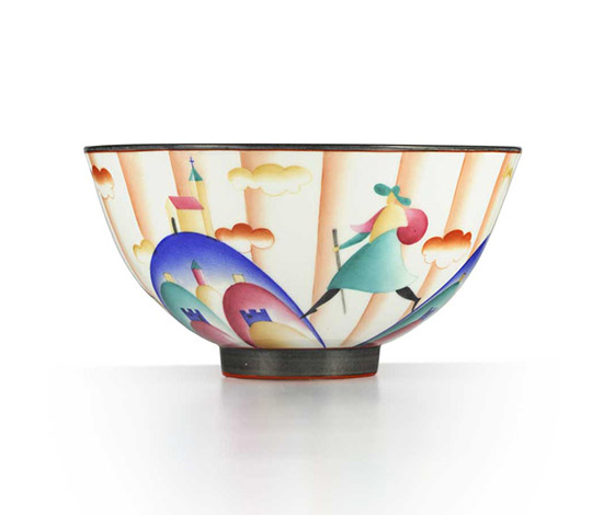 """Il pellegrino di Montesanto"" bowl by Wannenes Art Auctions"