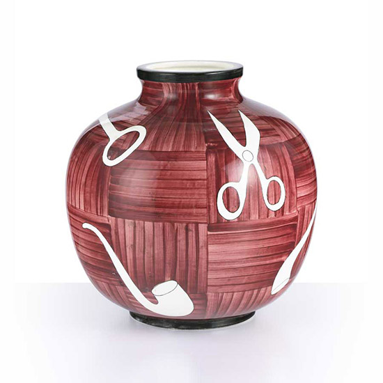 """Chiavi e pipe"" vase (for table lamp)"