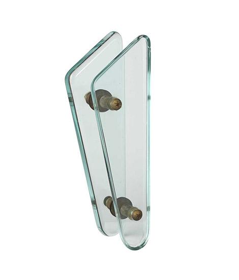 Glass door handle by Wannenes Art Auctions