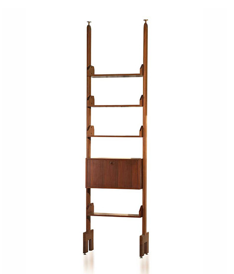 Italian wood bookcase
