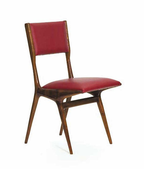 Four wooden chairs, mod. 671